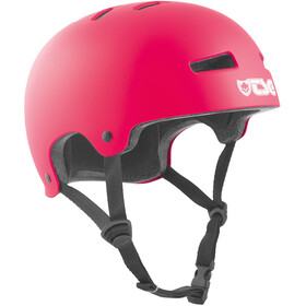 TSG Evolution Solid Color Bike Helmet pink